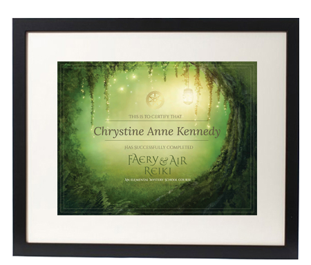 FAIRY reiki certification image
